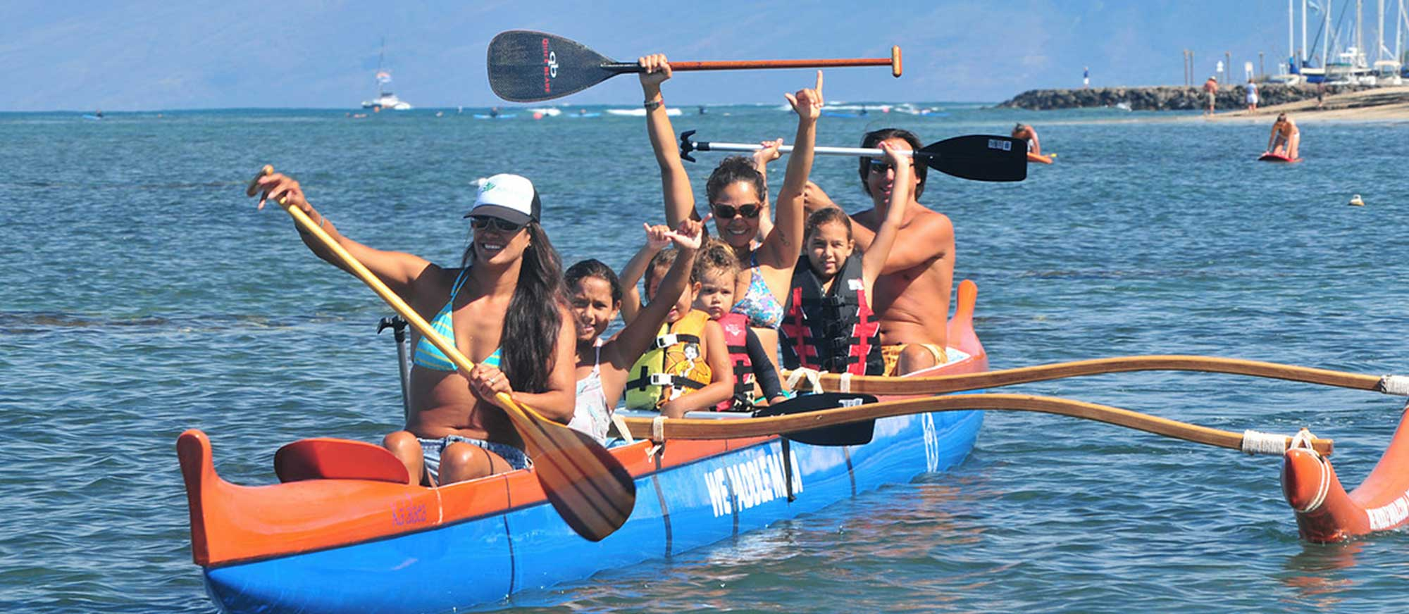 Join us for a canoe tour in Lahaina