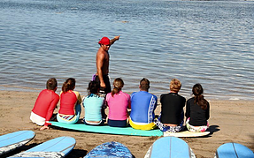 Get surfing lessons on Maui