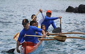 Surfing Canoe
