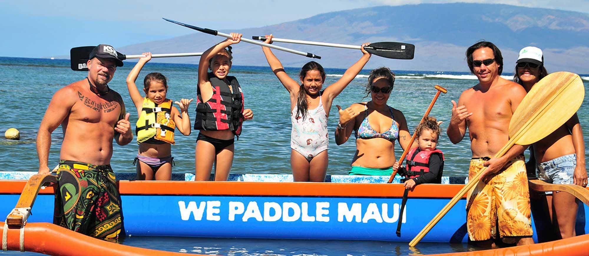 Canoe paddle tours in Lahaina, HI